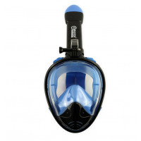Teljes arcmaszk búvárkodáshoz MASTER L-XL - Fekete/kék