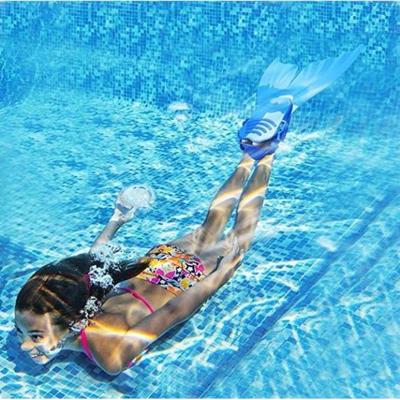 Monifin uszony gyerekeknek MASTER Mermaid - Kék