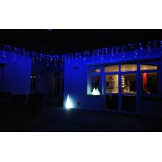 OKEJ Kültéri LED fényfüggöny időzítővel 24,5m  - Kék Előnézet