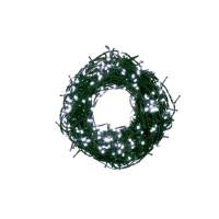 Kültéri/beltéri karácsonyi fényfüzér 12,5 m 500 LED OKEJ Bulinex - hideg fehér