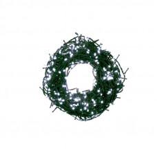 Kültéri/beltéri karácsonyi fényfüzér 12,5 m 500 LED OKEJ Bulinex - hideg fehér Előnézet