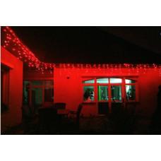 OKEJ Kültéri LED fényfüggöny időzítővel 24,5m  - Piros Előnézet