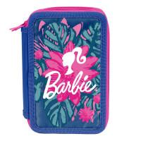 PASO Barbie Tropical háromszintes tolltartó