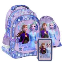 PASO Jégvarázs Frozen iskolai szett 2020 - iskolatáska, tornazsák, tolltartó