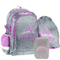 PASO Minnie Bow-you-tiful iskolai szett - iskolatáska, tornazsák, tolltartó