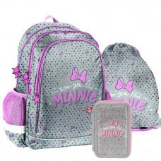 PASO Minnie Bow-you-tiful iskolai szett - iskolatáska, tornazsák, tolltartó Előnézet