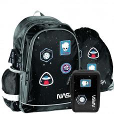 PASO NASA iskolai szett - iskolatáska, tornazsák, tolltartó Előnézet