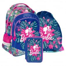 PASO Barbie Tropical iskolai szett - iskolatáska, tornazsák, tolltartó Előnézet