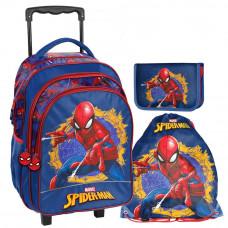 PASO Pókember iskolai szett - iskolatáska, tornazsák, tolltartó