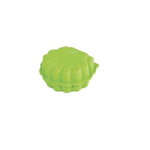 Kagyló Ikrek két részes homokozó - Zöld Inlea4Fun