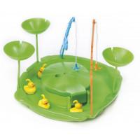 PARADISO TOYS Duck Fishing Games - Vizes horgász játék zöld