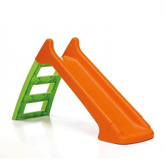 Csúszda víztömlő csatlakozóval - narancssárga Inlea4Fun