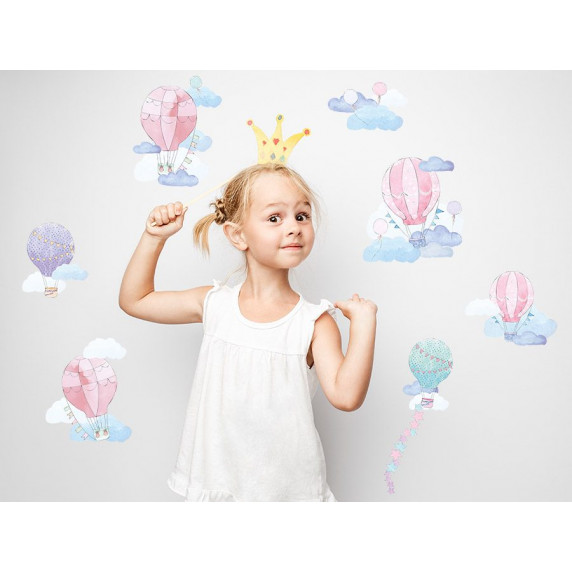 Falmatrica BALLONS - Léggömbök rózsaszín