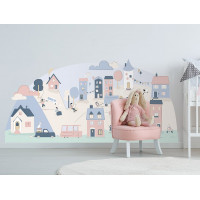 Falmatrica PINK SMALL TOWN 150  x 72 cm  - S