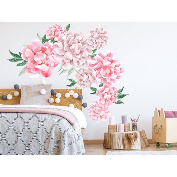 Falmatrica SECRET GARDEN Peonies - Virágok rózsaszín