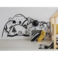 Falmatrica BLACK MOUNTAINS 150  x 75 cm  - S