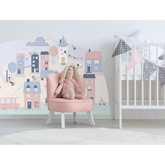 Falmatrica PINK SMALL TOWN 150  x 72 cm  - S