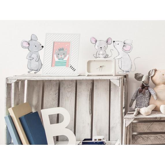 Falmatrica ANIMALS Mice Family - Egér család