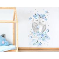 Falmatrica SECRET GARDEN Owl - Baglyos kék
