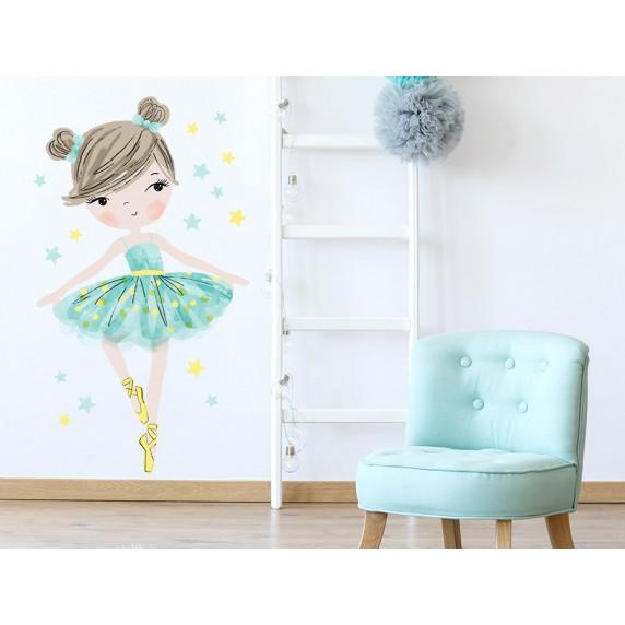 Falmatrica CHARACTERS Ballerina - Balerinás menta