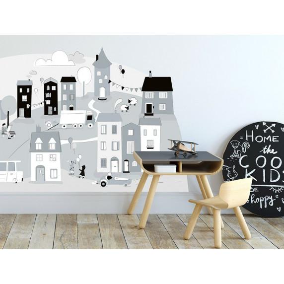 Falmatrica GRAY SMALL TOWN 178  x 86 cm  - L