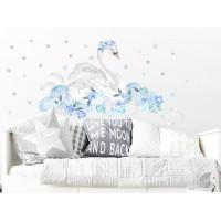 Falmatrica SECRET GARDEN Swan - Hattyú kék