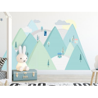 Falmatrica MINT MOUNTAINS 150  x 75 cm  - S