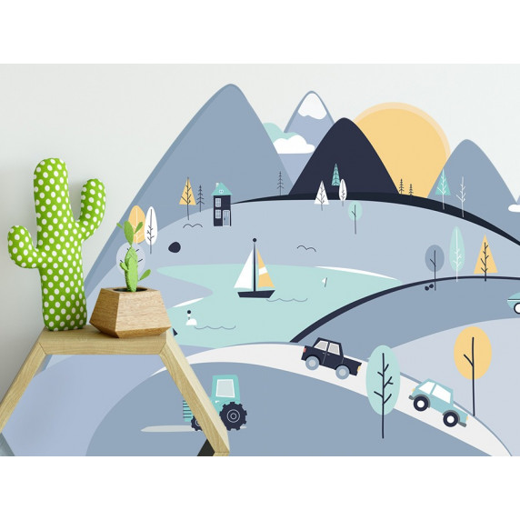 Falmatrica BLUE MOUNTAINS 180  x 90 cm  - L