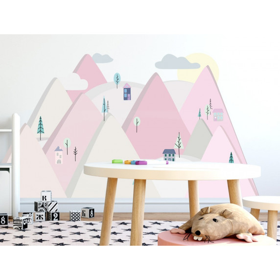 Falmatrica PINK MOUNTAINS 150  x 75 cm  - S