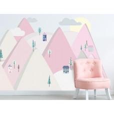 Falmatrica PINK MOUNTAINS 150  x 75 cm  - S Előnézet