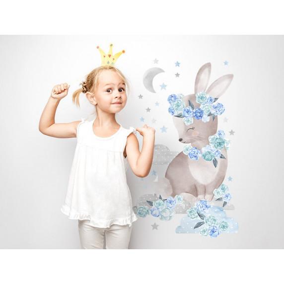 Falmatrica SECRET GARDEN Rabbit - Nyuszis kék