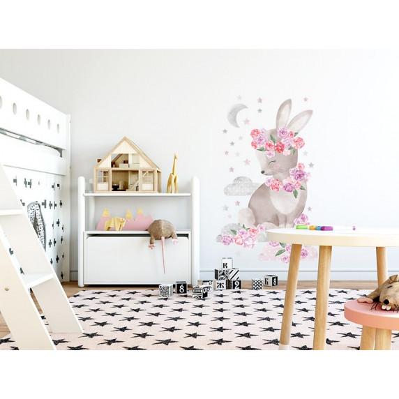 Falmatrica SECRET GARDEN Rabbit - Nyuszis rózsaszín
