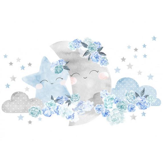 Falmatrica SECRET GARDEN Moon - Hold kék