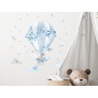 Falmatrica SECRET GARDEN Hot Air Balloon - Léggömb kék