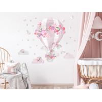 Falmatrica SECRET GARDEN Hot Air Balloon - Léggömb rózsaszín