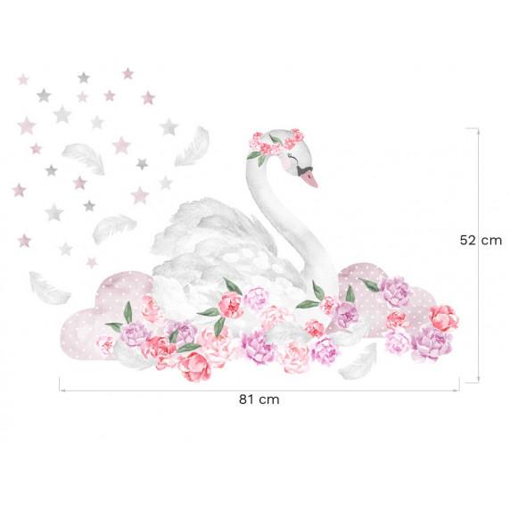 Falmatrica SECRET GARDEN Swan - Hattyú rózsaszín