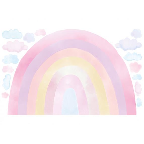 Falmatrica RAINBOW - Szivárvány - rózsaszín