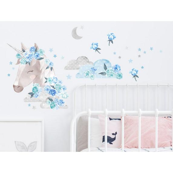 Falmatrica SECRET GARDEN Unicorn - Egyszarvú kék