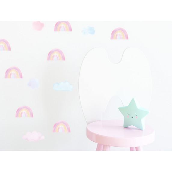 Falmatrica MINI RAINBOWS - Kis szivárványok - rózsaszín