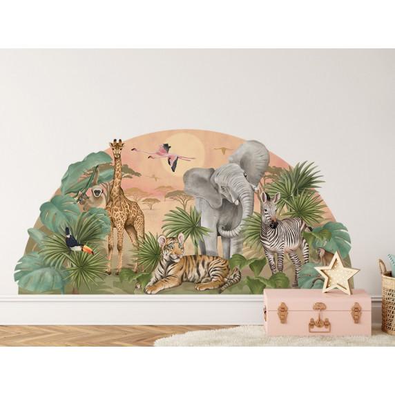 Falmatrica SAFARI BIG 161x79 cm - Szafari világ