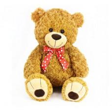 Plüss medve Teddy 63 cm - barna Előnézet