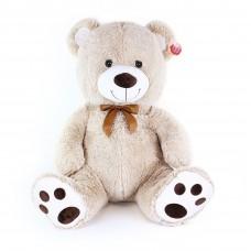 Plüss medve Miki 65 cm - bézs Előnézet