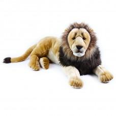 Plüss oroszlán fekvő 92 cm Előnézet