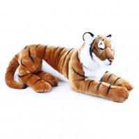 Plüss tigris fekvő 92 cm