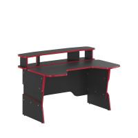 Íróasztal SKYLAND Skill 7055551 - Antracit/piros