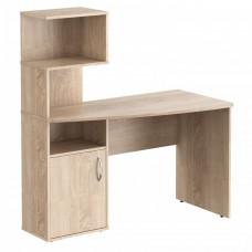 TAIPIT Comp Polcos íróasztal 120x60x135 cm - Sonoma Oak light Előnézet