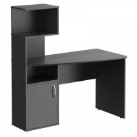 TAIPIT Comp Polcos íróasztal 120x60x135 cm - Dark Legno