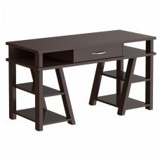 TAIPIT Comp Fiókos íróasztal polcokkal 140x60x78 cm - Wengge Magic Előnézet