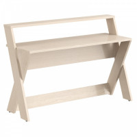 TAIPIT Comp Modern íróasztal 145x60x98 cm - Tiara Beech