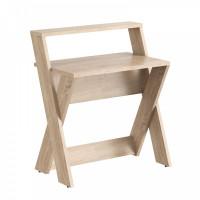 TAIPIT Comp Modern íróasztal 85x60x98 cm - Sonoma Oak